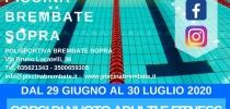 CORSI DI NUOTO ADULTI E FITNESS 29 GIUGNO - 30 LUGLIO 2020