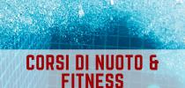 CORSI DI NUOTO E FITNESS 14 SETTEMBRE - 22 DICEMBRE 2020